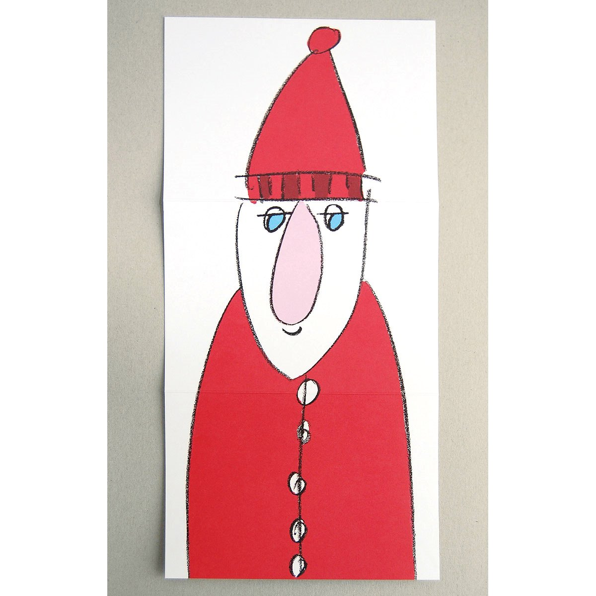 Cartoon Christmas Cards with interesting views