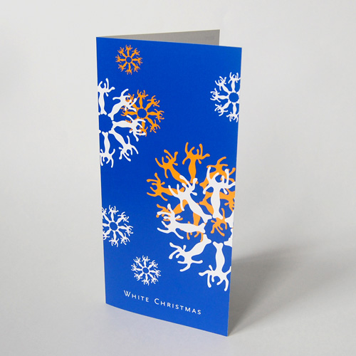 cheap Christmas Cards: white christmas
