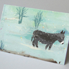 christian christmas cards: little donkey