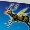Rudolph, funny christmas cards